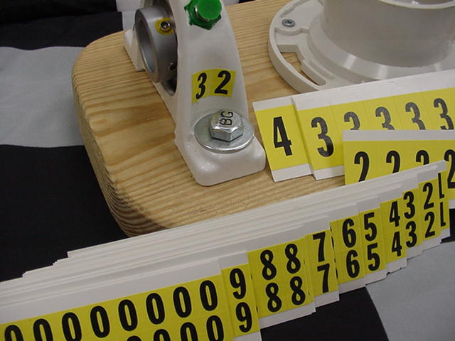 Numbering Labels